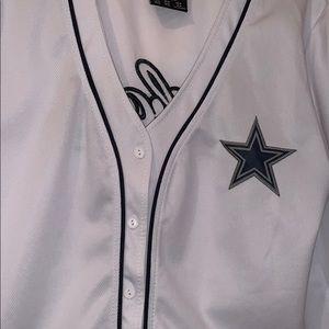 Dallas Cowboys baseball tee